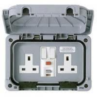 Domestic Electrical Services - Outdoor Sockets