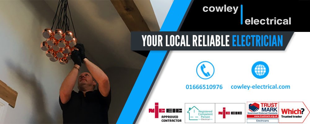 Electrician in Royal Wootton Bassett - Your Local Electrician in Royal Wootton Bassett- Cowley Electrical Contractors